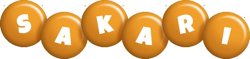 Sakari candy-orange logo