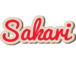 Sakari chocolate logo
