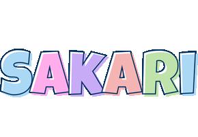 Sakari pastel logo