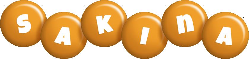 Sakina candy-orange logo