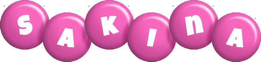 Sakina candy-pink logo