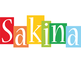 Sakina colors logo