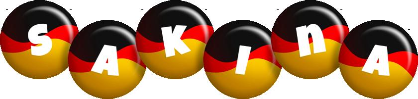Sakina german logo