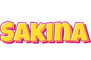 Sakina kaboom logo