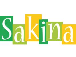 Sakina lemonade logo