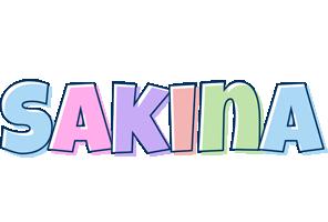 Sakina pastel logo