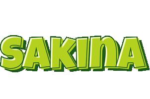 Sakina summer logo