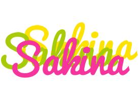 Sakina sweets logo