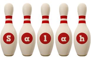 Salah bowling-pin logo