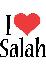 Salah i-love logo