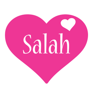 Salah love-heart logo
