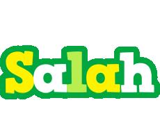 Salah soccer logo