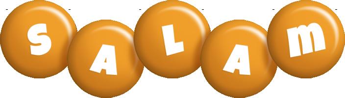 Salam candy-orange logo