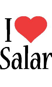 Salar i-love logo