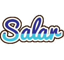Salar raining logo