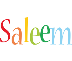 Saleem birthday logo
