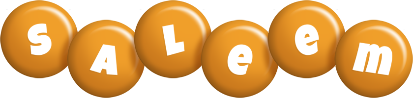 Saleem candy-orange logo