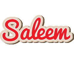 Saleem chocolate logo