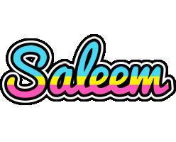Saleem circus logo