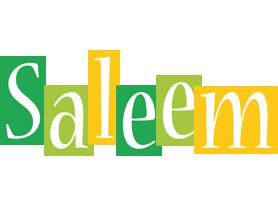 Saleem lemonade logo