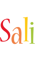 Sali birthday logo
