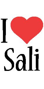 Sali i-love logo