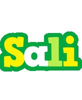 Sali soccer logo