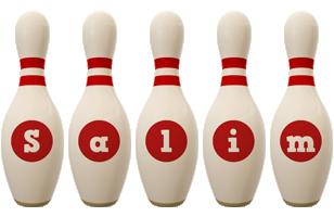 Salim bowling-pin logo
