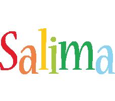 Salima birthday logo