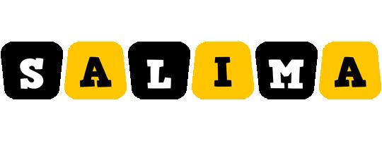 Salima boots logo
