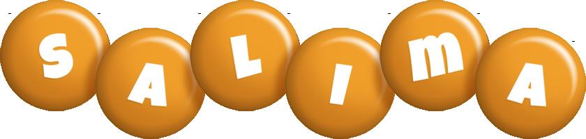 Salima candy-orange logo
