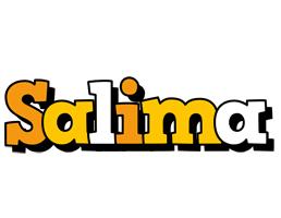 Salima cartoon logo
