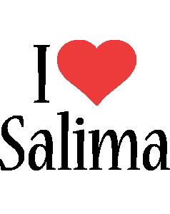 Salima i-love logo