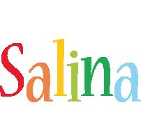 Salina birthday logo