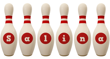 Salina bowling-pin logo