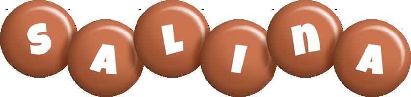 Salina candy-brown logo