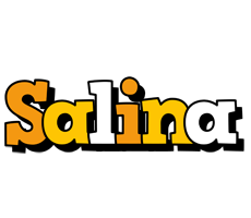 Salina cartoon logo