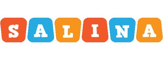 Salina comics logo