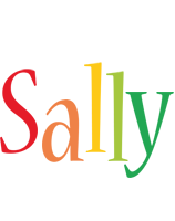 Sally birthday logo