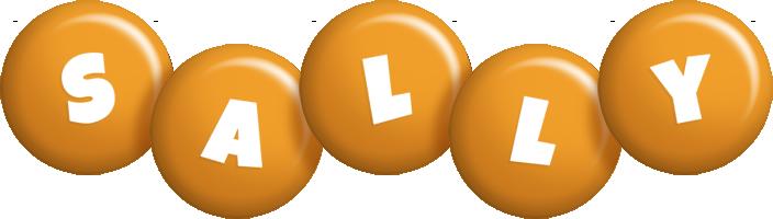 Sally candy-orange logo