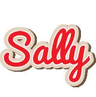 Sally chocolate logo