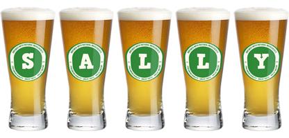 Sally lager logo