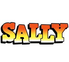 Sally sunset logo
