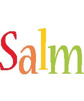 Salm birthday logo
