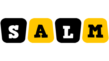 Salm boots logo