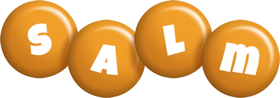 Salm candy-orange logo