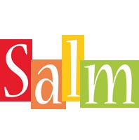 Salm colors logo