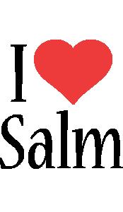 Salm i-love logo