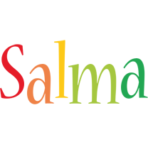 Salma birthday logo