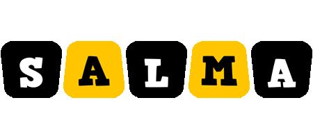 Salma boots logo